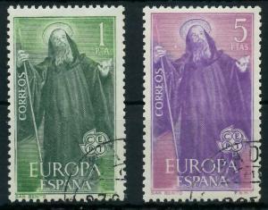 SPANIEN 1965 Nr 1565-1566 gestempelt 9C7E2E