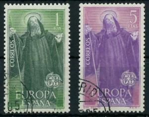 SPANIEN 1965 Nr 1565-1566 gestempelt 9C7E32