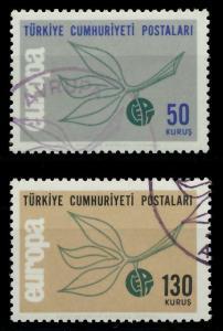 TÜRKEI 1965 Nr 1961-1962 gestempelt 9C7E4E