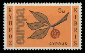 ZYPERN 1965 Nr 258 postfrisch S7AD9A2