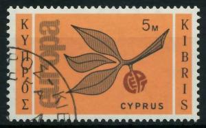 ZYPERN 1965 Nr 258 gestempelt 9C7EBA