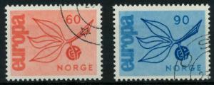 NORWEGEN 1965 Nr 532-533 gestempelt 9C7EBE