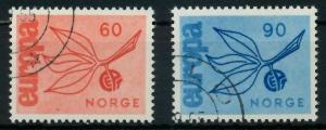 NORWEGEN 1965 Nr 532-533 gestempelt 9C7EC2