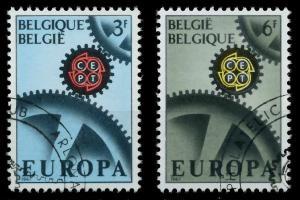 BELGIEN 1967 Nr 1472-1473 gestempelt 9C840E
