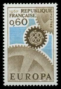 FRANKREICH 1967 Nr 1579 postfrisch SA52A12