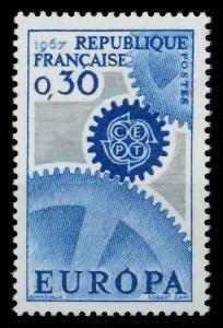 FRANKREICH 1967 Nr 1578 postfrisch SA52A0A