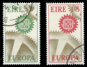 IRLAND 1967 Nr 192-193 gestempelt 9C847A