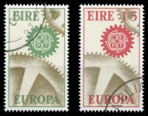 IRLAND 1967 Nr 192-193 gestempelt 9C8486
