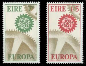 IRLAND 1967 Nr 192-193 postfrisch 9C8492