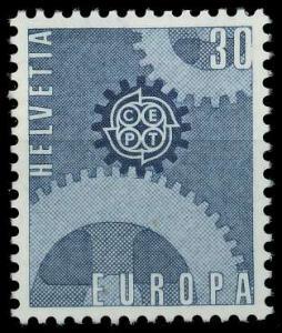 SCHWEIZ 1967 Nr 850 postfrisch SA52C22