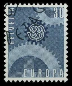 SCHWEIZ 1967 Nr 850 gestempelt 9D1542