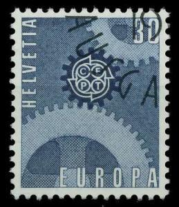 SCHWEIZ 1967 Nr 850 gestempelt 9D1546