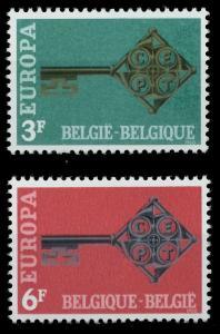 BELGIEN 1968 Nr 1511-1512 postfrisch 9D163A