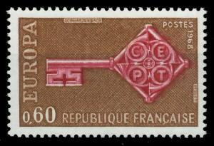 FRANKREICH 1968 Nr 1622 postfrisch SA52D76