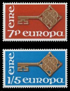 IRLAND 1968 Nr 202-203 postfrisch 9D17C6