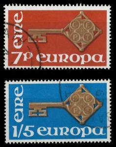 IRLAND 1968 Nr 202-203 gestempelt 9D17CA