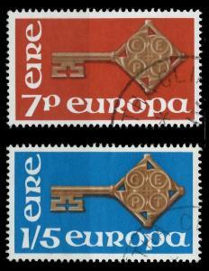 IRLAND 1968 Nr 202-203 gestempelt 9D17CE