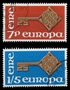 IRLAND 1968 Nr 202-203 gestempelt 9D17D2