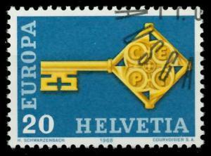 SCHWEIZ 1968 Nr 871 gestempelt 9D18C6
