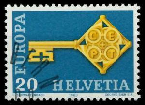 SCHWEIZ 1968 Nr 871 gestempelt 9D18D2