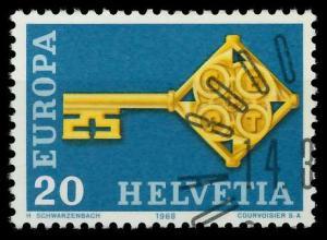 SCHWEIZ 1968 Nr 871 gestempelt 9D18D6