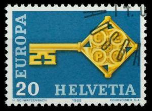 SCHWEIZ 1968 Nr 871 gestempelt 9D18DA