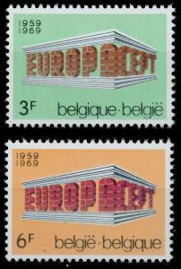 BELGIEN 1969 Nr 1546-1547 postfrisch SA5E6CE