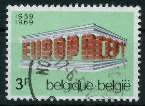 BELGIEN 1969 Nr 1546 gestempelt 9D1976