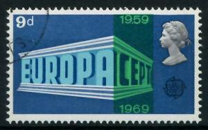 GROSSBRITANNIEN 1969 Nr 512 gestempelt 9D1A72