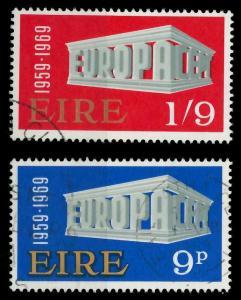 IRLAND 1969 Nr 230-231 gestempelt 9D1A92
