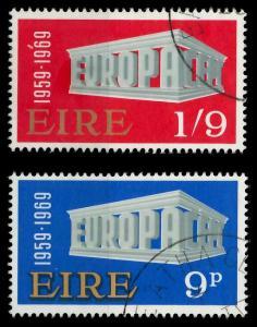 IRLAND 1969 Nr 230-231 gestempelt 9D1A9E