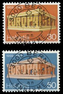 SCHWEIZ 1969 Nr 900-901 zentrisch gestempelt 9DBB9E