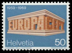 SCHWEIZ 1969 Nr 901 postfrisch SA5EA76