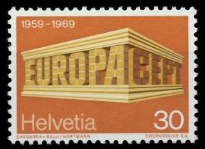 SCHWEIZ 1969 Nr 900 postfrisch SA5EA72