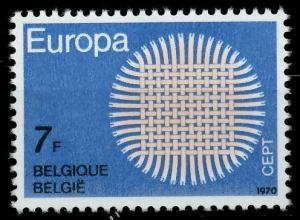 BELGIEN 1970 Nr 1588 postfrisch SA5EBBA