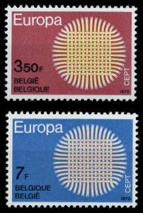 BELGIEN 1970 Nr 1587-1588 postfrisch SA5EBAE