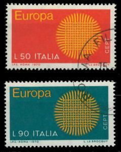 ITALIEN 1970 Nr 1309-1310 gestempelt FF494A