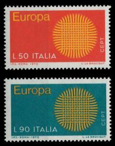ITALIEN 1970 Nr 1309-1310 postfrisch SA5ECCA