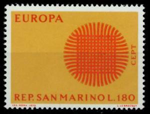 SAN MARINO 1970 Nr 956 postfrisch FFBFB2
