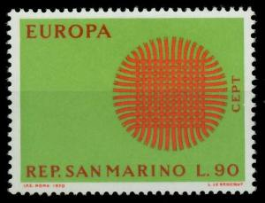 SAN MARINO 1970 Nr 955 postfrisch FFBFCA