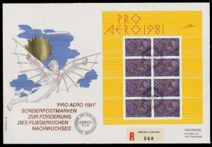 SCHWEIZ BLOCK KLEINBOGEN 1980-1989 Nr 1196 ESST 026392
