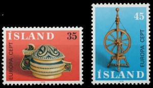 ISLAND 1976 Nr 514-515 postfrisch SAC6EA6