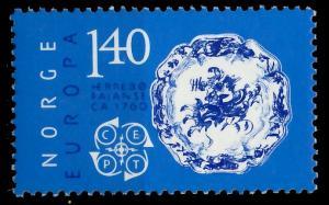 NORWEGEN 1976 Nr 725 postfrisch 045746