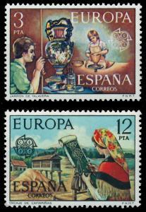 SPANIEN 1976 Nr 2209-2210 postfrisch SAC707E