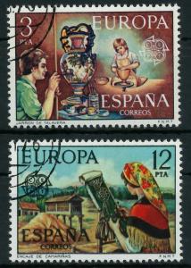 SPANIEN 1976 Nr 2209-2210 gestempelt 04AF56