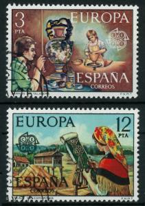 SPANIEN 1976 Nr 2209-2210 gestempelt 04AF5E