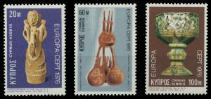 ZYPERN 1976 Nr 435-437 postfrisch 04AF96