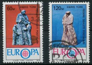 TÜRKISCH-ZYPERN 1976 Nr 27-28 gestempelt 04AF9A