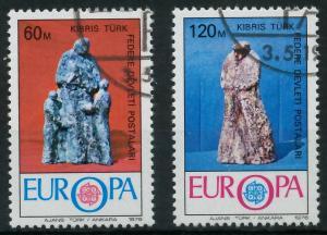 TÜRKISCH-ZYPERN 1976 Nr 27-28 gestempelt 04AFA6