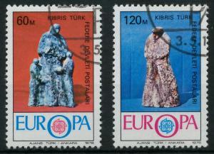 TÜRKISCH-ZYPERN 1976 Nr 27-28 gestempelt 04AFAE